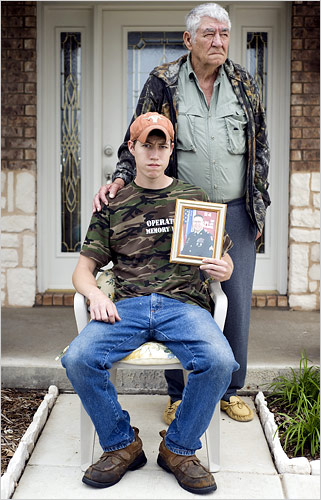 Father & Son of Sgt. John M. Russell who killed 4 fellow GIs in Iraq