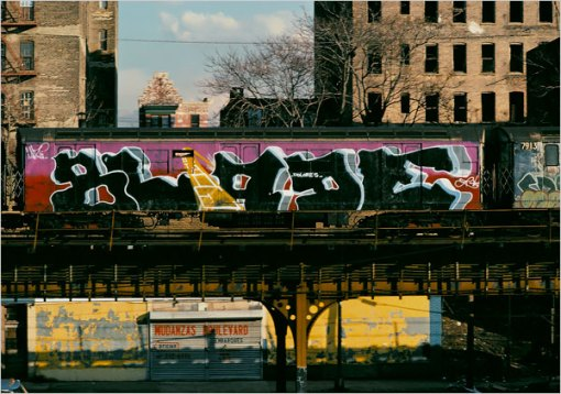 NYC GRAFFITI TRAIN