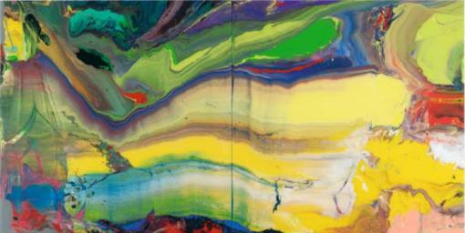 Gerhard Richter Flow