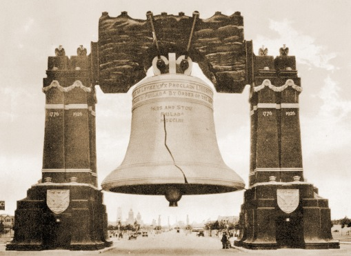 1926_Sesqui-Centennial_Exposition_'Luminous_Liberty_Bell',_Philadelphia,_PA